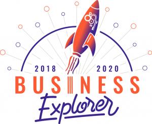 Le logo de notre projet d'entreprise Business Explorer