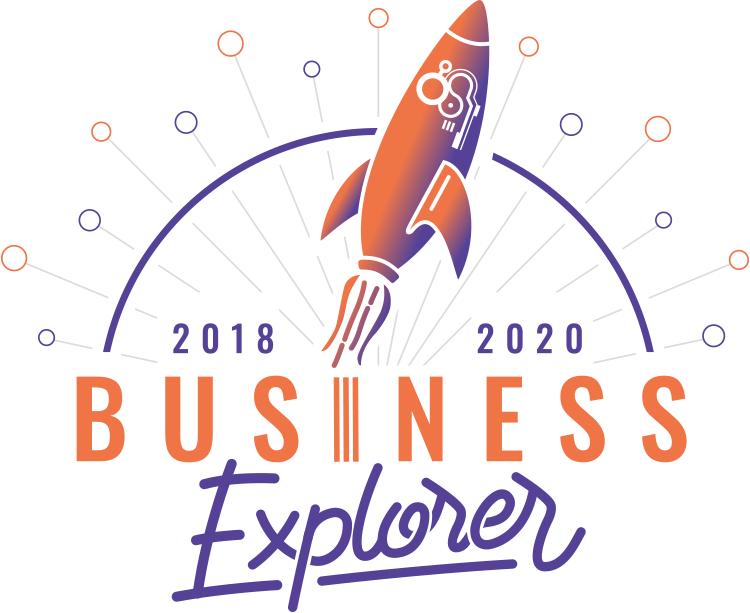 Le logo de notre projet Business Explorer